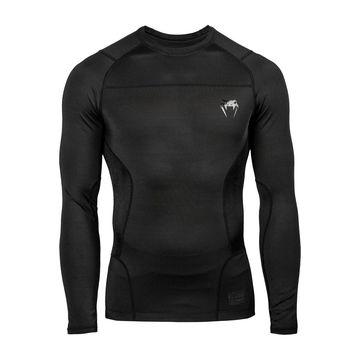 Venum G-Fit Rashguard Long Sleeves, Black