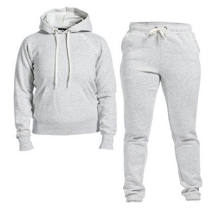 Soft Wear Set Wmn, Light Grey Melange