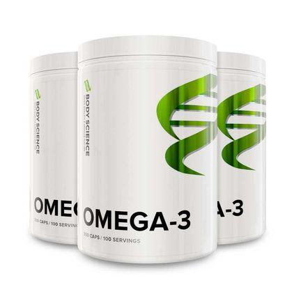3 st Omega-3 300 kapslar