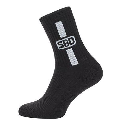 SBD Sport Socks, Black/White