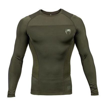 Venum G-Fit Rashguard Long Sleeves, Khaki Green